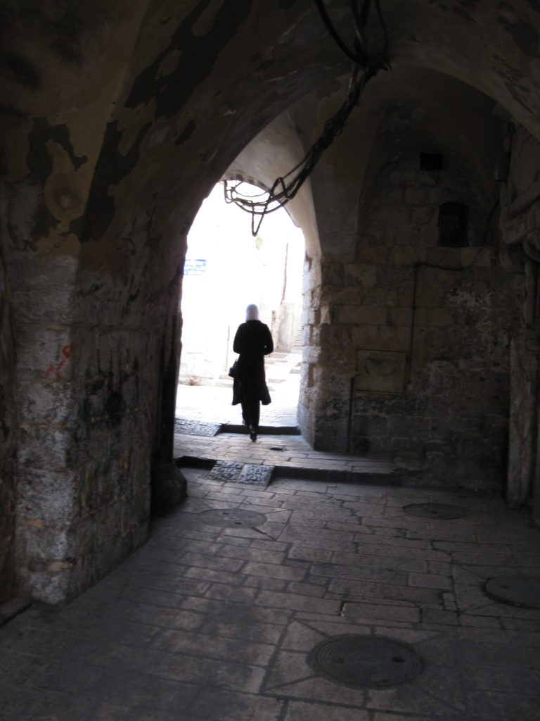 alley jerusalem old city 210109